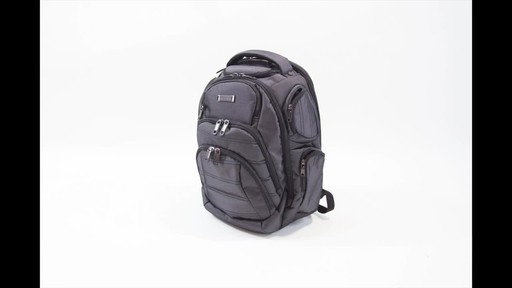 Kenneth Cole Reaction Pack of All Trades Laptop Backpack - image 7 from the video