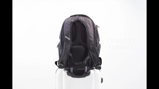 Kenneth Cole Reaction Pack of All Trades Laptop Backpack - image 8 from the video