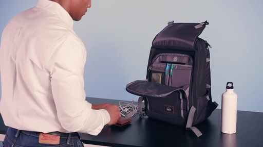American Tourister Dig Dug Laptop Backpack - image 6 from the video