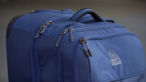 Granite Gear Cross-Trek Wheeled Duffel Collection - image 3 from the video