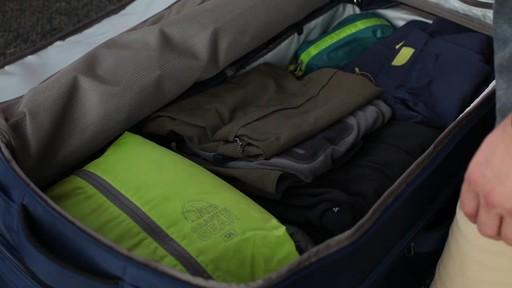 Granite Gear Cross-Trek Wheeled Duffel Collection - image 6 from the video