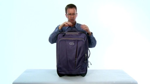 More space. eBags TLS Expandable 22 - image 1 from the video
