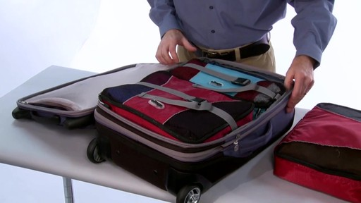 More space. eBags TLS Expandable 22 - image 6 from the video