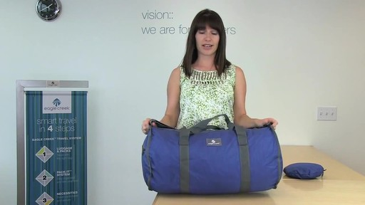 Eagle Creek Packable Duffel - image 6 from the video