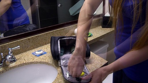 3 Compartment Hanging Toiletry Kit - eBags.com - image 7 from the video