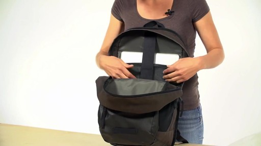 Timbuk2 Slate Laptop Backpack - eBags.com - image 7 from the video