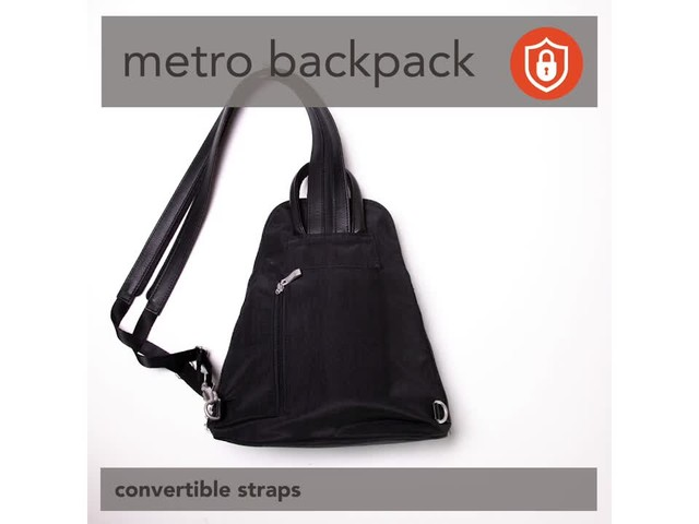 baggallini Metro Backpack with RFID Phone Wristlet - image 1 from the video