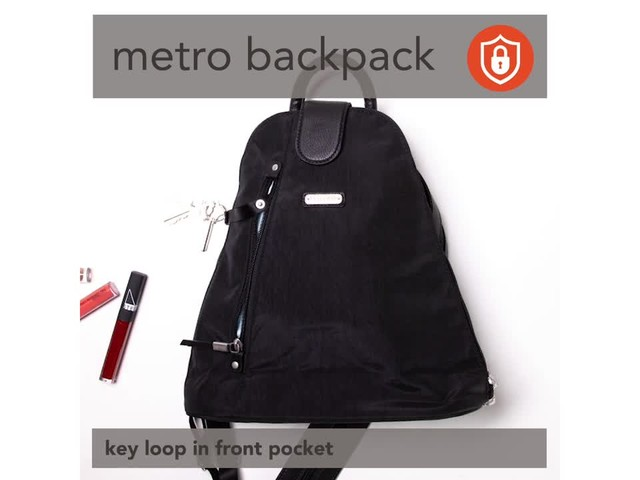 baggallini Metro Backpack with RFID Phone Wristlet - image 6 from the video