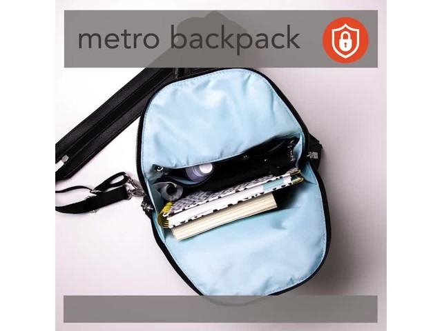 baggallini Metro Backpack with RFID Phone Wristlet - image 7 from the video