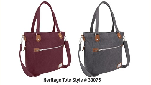 Travelon Anti-Theft Heritage Tote - eBags.com - image 10 from the video