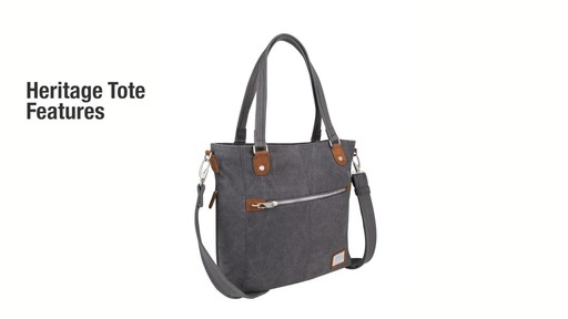 Travelon Anti-Theft Heritage Tote - eBags.com - image 2 from the video