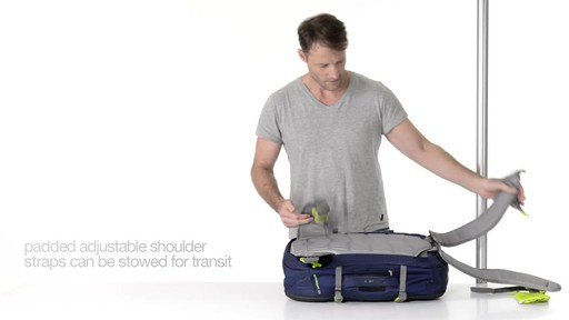Pacsafe Venturesafe 45L GII - on eBags.com - image 4 from the video