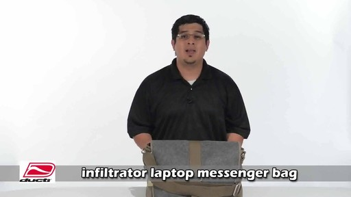 Ducti Infiltrator Laptop Messenger - image 1 from the video