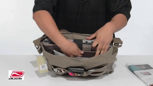 Ducti Infiltrator Laptop Messenger - image 5 from the video