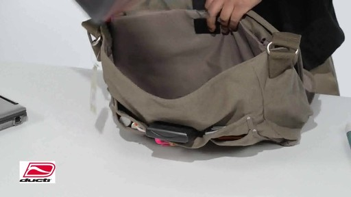 Ducti Infiltrator Laptop Messenger - image 6 from the video
