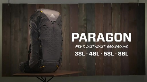 Gregory Paragon Hiking Backpacks - image 1 from the video