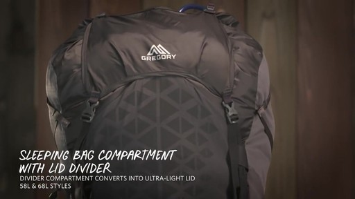 Gregory Paragon Hiking Backpacks - image 10 from the video