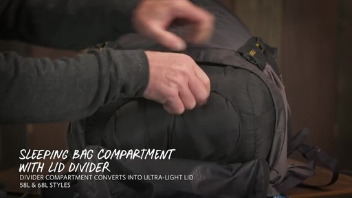 Gregory Paragon Hiking Backpacks - image 9 from the video