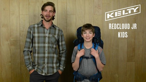 Kelty Redcloud Junior Hiking Backpack - image 10 from the video