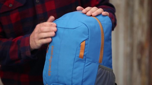 Patagonia Kids' Refugio 15L Daypack - image 2 from the video
