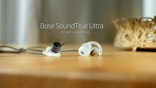 Bose SoundTrue Ultra In-Ear Headphones - Shop eBags.com - image 10 from the video