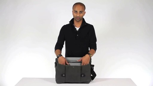 Timbuk2 Proof Laptop Messenger - eBags.com - image 5 from the video