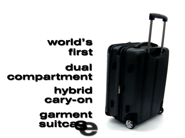 Traveler's Choice Sienna 21 in. Hybrid Rolling Carry-On Garment Bag / Upright - image 1 from the video