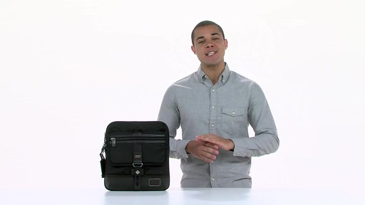 Tumi Alpha Bravo Annapolis Zip Flap - image 1 from the video