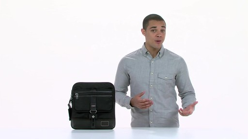 Tumi Alpha Bravo Annapolis Zip Flap - image 10 from the video