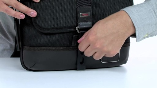 Tumi Alpha Bravo Annapolis Zip Flap - image 2 from the video