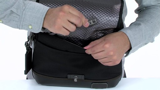 Tumi Alpha Bravo Annapolis Zip Flap - image 6 from the video