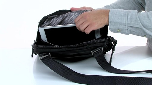 Tumi Alpha Bravo Annapolis Zip Flap - image 8 from the video