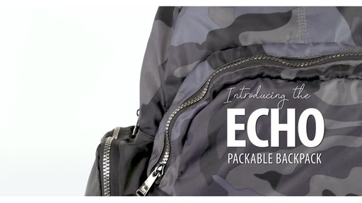 Lug Echo Packable Backpack - image 1 from the video