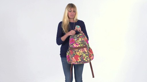 Sakroots - Artist Circle Classic Backpack - image 5 from the video