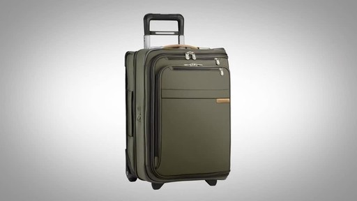 Briggs & Riley Baseline Domestic Carry-On Upright Garment Bag - image 1 from the video
