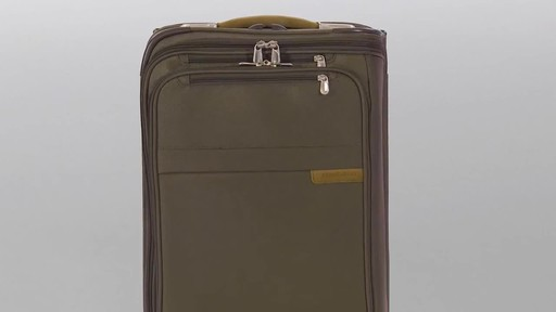 Briggs & Riley Baseline Domestic Carry-On Upright Garment Bag - image 10 from the video
