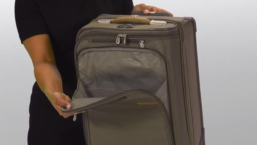 Briggs & Riley Baseline Domestic Carry-On Upright Garment Bag - image 4 from the video