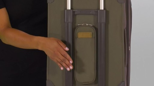 Briggs & Riley Baseline Domestic Carry-On Upright Garment Bag - image 5 from the video