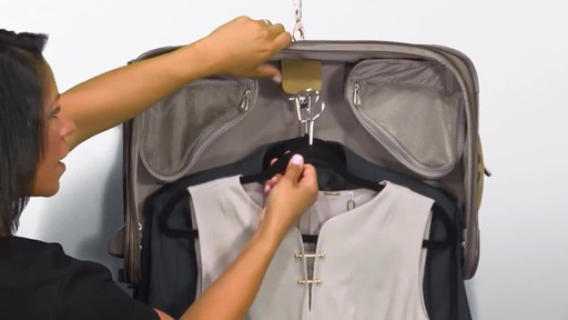Briggs & Riley Baseline Domestic Carry-On Upright Garment Bag - image 6 from the video