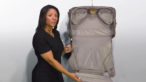 Briggs & Riley Baseline Domestic Carry-On Upright Garment Bag - image 7 from the video
