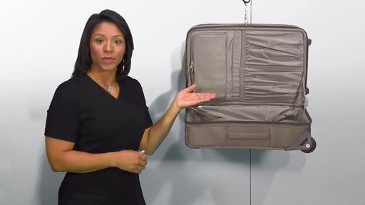 Briggs & Riley Baseline Domestic Carry-On Upright Garment Bag - image 8 from the video