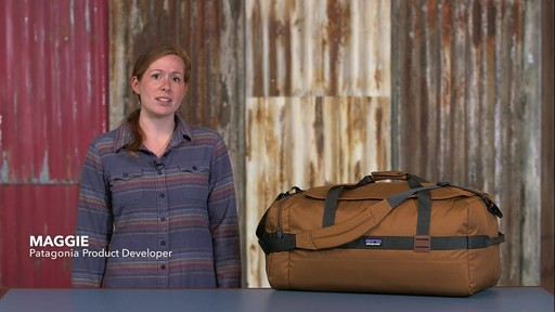 Patagonia Arbor Duffle 60L - image 1 from the video