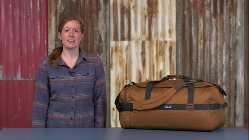 Patagonia Arbor Duffle 60L - image 10 from the video