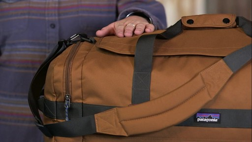 Patagonia Arbor Duffle 60L - image 2 from the video