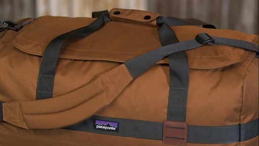 Patagonia Arbor Duffle 60L - image 4 from the video
