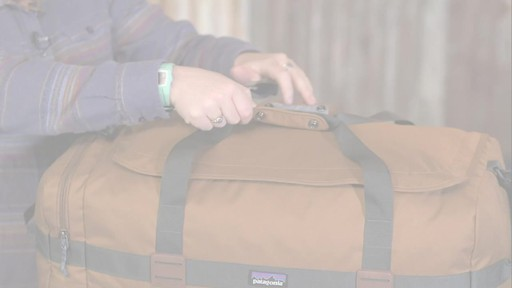 Patagonia Arbor Duffle 60L - image 5 from the video