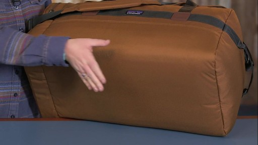Patagonia Arbor Duffle 60L - image 8 from the video