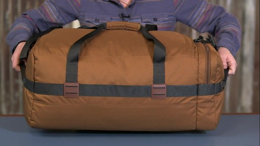 Patagonia Arbor Duffle 60L - image 9 from the video