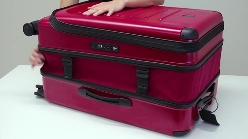 Victorinox Spectra 2.0 Expandable Luggage - on eBags.com - image 7 from the video