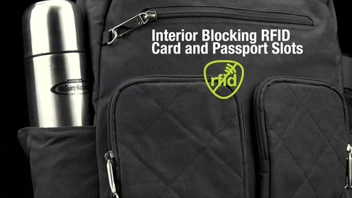 Travelon Anti-Theft Small Backpack - Exclusive - on eBags.com - image 4 from the video